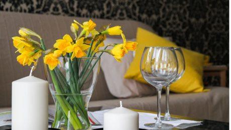 Miser sur les fleurs et la nouveauté dans la décoration d'intérieur