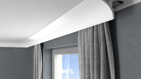 Illuminer le plafond avec une corniche éclairage indirect